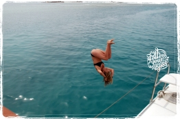 Follow your Bliss - Boat jump